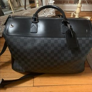 Authentic Louis Vuitton Damien Grimaud Travel Bag